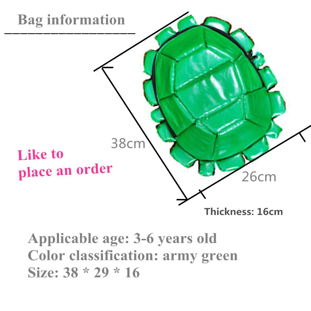 School bag diagram - Male Children Cartoon Tortoise Package Child Care Student Backpack School Bag Factory Direct Sales