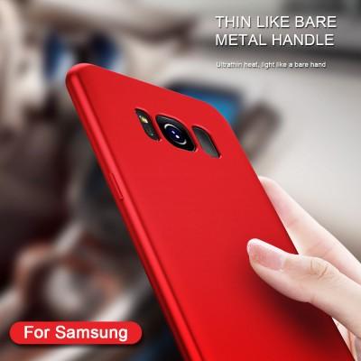 KISSCASE Soft Smooth Case For Samsung Galaxy S8 S7 S6 Edge Case TPU Phone Cover For Samsung Galaxy J5 2016 A5 A7 2017 Cases