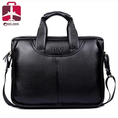 Polo men messenger bags 2017 famous brand leather briefcases men ...