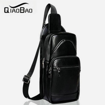 Genuine leather men bags cow leather waist pack fanny pack for men real leather crossbody bags