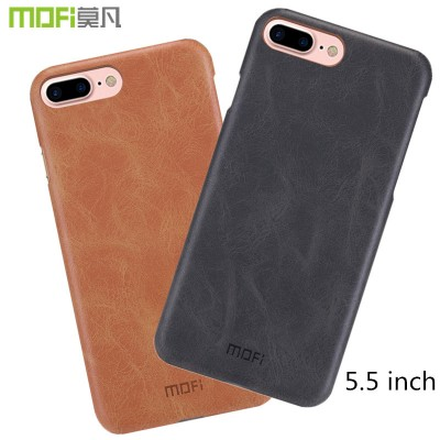Phone Cases For iphone MOFi origonal for iphone 7 plus case PU leather back cover hard case coque capa funda for iphone 7 plus cover black navy 5.5