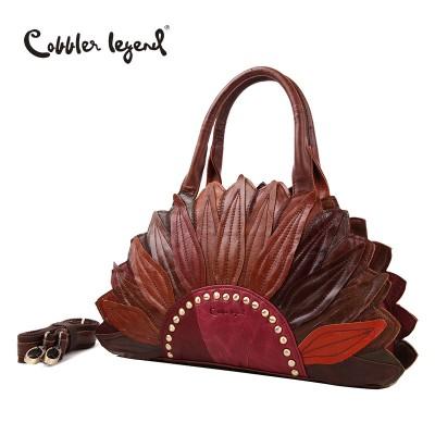 Cobbler Legend 2017 New Women's Handbags Shoulder Genuine Leather Bag Superior Cowhide Leather Female Bag Women Handbag #1204101