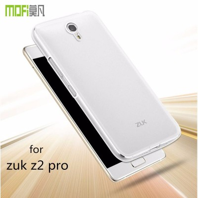 zuk z2 pro case tpu soft back cover transparent protective case mofi original for lenovo zuk z2  pro clear silicon 5.2 inch
