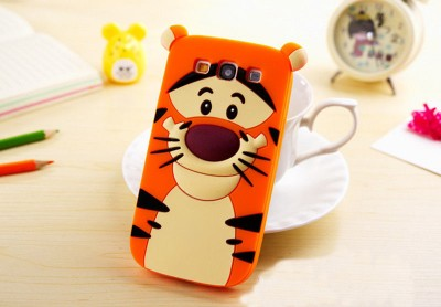Tiger Phone Case 3D Cartoon Soft Silicone Case for Samsung Cartoon Phone Cases Personalised Phone Case Funny Phone Cases Cute Phone Cases Tiger Case