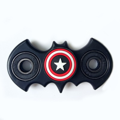 Finger Fidget Toys New Fidget Spinner Batman Shape Fidget Toy EDC Captain Hand Finger Spinner Relieve Stress Austism ADHD America Handspinner Toys