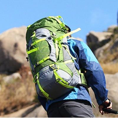 lightweight hiking backpack Creeper Rucksack Outdoor Trekking Camping Hiking Backpacks Sport Bag with Rain Cover Mountaineering Daypack 60L waterproof hiking backpack