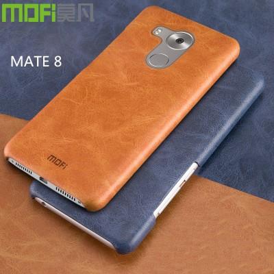MOFi Case for huawei mate 8 case cover MOFi original leather case huawei mate 8 accessories back cover skin business pure