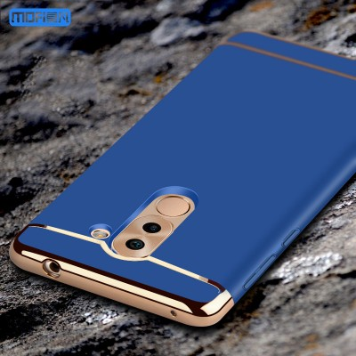 Huawei honor 6X case cover huawei honor6x back cover MOFi original luxury 3 in 1 joint capa coque funda protective rose gold 5.5 Phone Cases For huawei