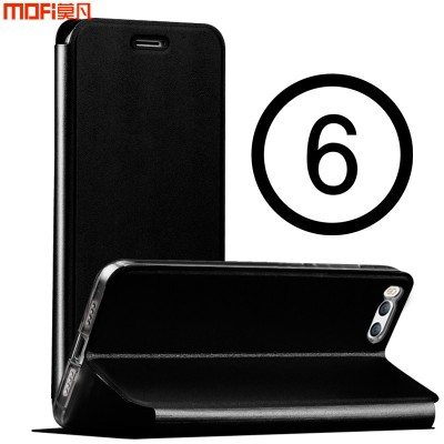 MOFi Case for Xiaomi mi6 flip case black xiaomi mi 6 case cover stand holder full cover rose gold pink pure capa coque funda xiaomi 6 case