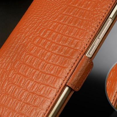 Genuine Leather Phone Case For CUBOT ECHO Wallet Card Holder Flip Stand Unique Design Magnet Phone Case