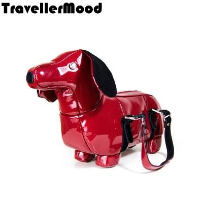Animal Bags Women bag new fashion PU leather handbags cute dog shape bag women messenger bags high quality TravellerMood