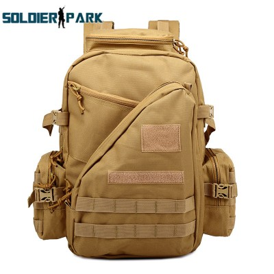 Tactical Assault Molle Nylon Waterproof Durable Backpack Multifunctional Outdoor Travel Sports Mountaineering Hiking Backpack