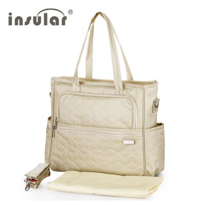 2017 Insular Baby Stroller Diaper Bag Waterproof Brand Handbags for Moms Multicolor Nappy Bags with Accessories