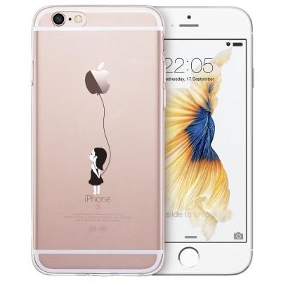 cartoon phone cases Case for iPhone 6s 6 Plus, ESR Cute Cartoon Clear Soft TPU Case Ultra Thin Light Weight Protective Cover for iPhone6 6s Plus 6P cartoon cases