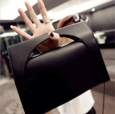 New European temperament Trojan handbags snake chain handle clutch bag shoulder bag evening bag small fashion PU leather bag