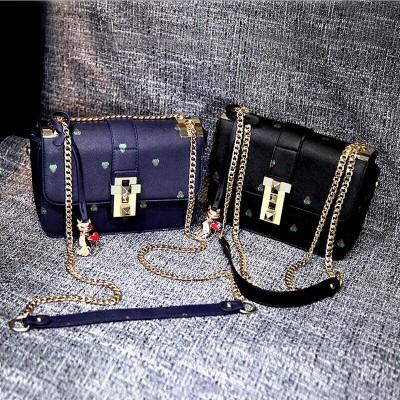 2017 brand designer women lovely messenger bags high quality leather zipper shell shoulder bag women's Cat handbag