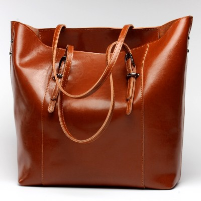 Women Handbag Genuine Leather Shoulder Bag Female Bags Cowhide portable shopping bag Vintage Large Capacity Tote Bolsos AE-32647988947