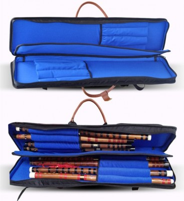 New 75cm Top quality professional Chinese bamboo Dizi flute case soft gig bag waterproof cover padded backpack can hold 8 flutes