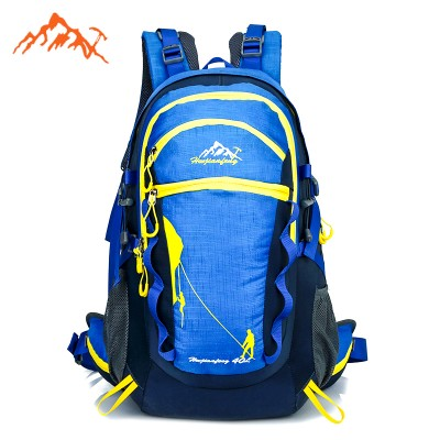 lightweight hiking backpack 40L External Frame Hiking Backpacks Outdoor Sports Mountaineering Women Men Hiking Bag Hunting Travel Backpacks With Rain Cover waterproof hiking backpack