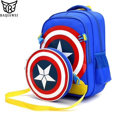 BAIJIAWEI School Bags for Boys Girls Children Backpacks Primary Students Backpack Waterproof Schoolbag Kids Mochila Infantil Zip