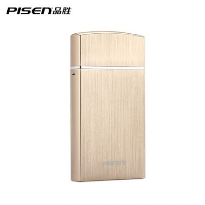 PISEN Multifunctional Electric Shaver Single Blade Mobile Power Bank 2000mAh Portable Charger USB For Phones Blue Black Golden