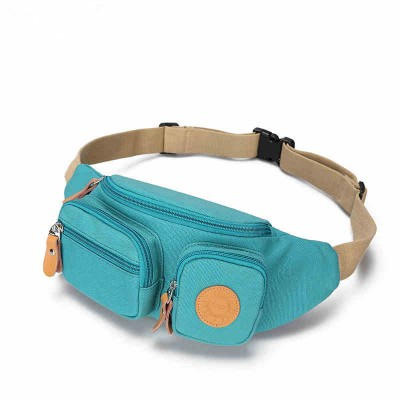 Summer tide Canvas Shoulder Bag multifunctional Wallet Bag Mini waist pack pockets