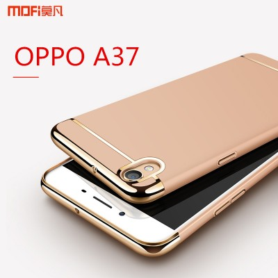 MOFi Case for OPPO A37 case cover luxury case rose gold pink hard back case 3 in 1 MOFi original capa coque funda oppo A37 A37m