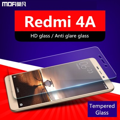 Xiaomi redmi 4A glass screen protector redmi 4a tempered glass high definition anti glare anti blue ray protective film 9H 2.5D