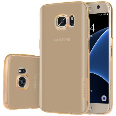 Phone Case for Samsung Galaxy S7 Nillkin Nature TPU Silicone Case Clear Back Cover for Samsung S7 edge Phone Case