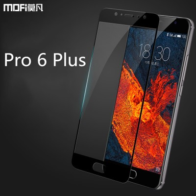 meizu pro 6 plus glass tempered glass MOFi original meizu pro6 plus glass full cover screen protector pro6 plus protective glass
