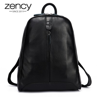 Backpacks for Girls New 2017 100% Real Soft Genuine Leather Women Backpack Woman Korean Style Ladies Strap Laptop Bag Daily Backpack Girl School