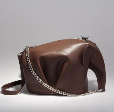 Casual 2017 New Chain Handbag Cross Body Bag Leather Shoulder Bag Women Cute Elephant Mini Purses