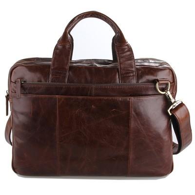 Genuine Leather Men Bags New Male Briefcase Man Business Laptop Bag Men Crossbody Shoulder Handbags Mens Messenger Totes