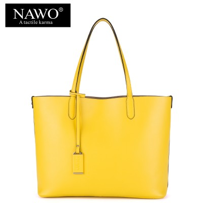 NAWO Red Casual Women Tote Bags Large Capacity Leather Handbags New Fashion Famous Designer Brand Ladies shoulder Shopping Bags