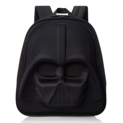 3D Black Knight computer kids bag Starwar cartable enfant Cartoon school bags for boys schooltas children bags backpack sac a