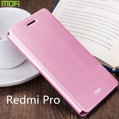 Redmi pro case cover Xiaomi redmi pro cover MOFi original flip case holder stand kickstand xiami cover capa coque funda 5.5""