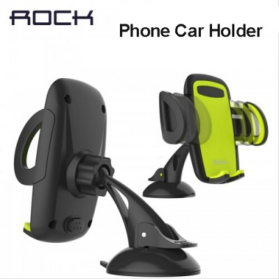 Mobile Cell Phone Holder for Car Rock Mobile Car Phone Holder Stand Adjustable Support 6.0 inch 360 Rotate For Iphone 6 Plus/5s Samsung galaxy note 7 S6 s7