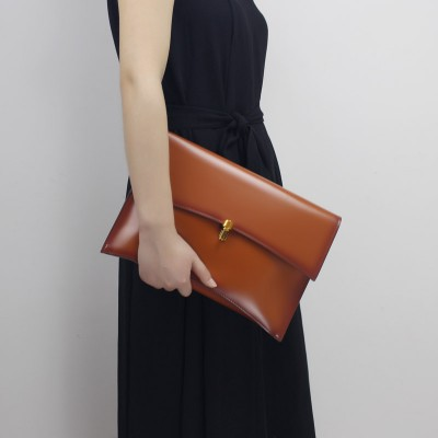 Women Day Clutch Genuine Leather Envelope Bag Banquet Women Handbag Vintage Cowlayer Messenger Bag