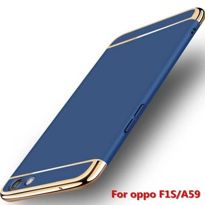 Phone Case For OPPO A59 OPPO F1s Case Phone Protective Back Cover Skin A59M capas 3 in 1 funda OPPO F1s A59 PC case
