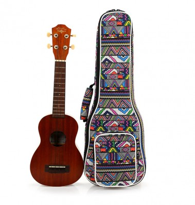 High Quality 21 inch soprano 23 inch concert Padded Ukulele Bags Ukulele Soft Gig Bags Small Guitar Cases
