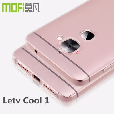 letv Cool 1 Dual case leeco coolpad cool1 tpu cover transparent silicone clear back case mofi original cool one cover 5.5 inch