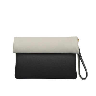 2017 Brand Envelope Fold-over Clutch Crossbody Bags for Women Popular Shoulder Bag Ladies Gradient Clutches Woman Bag BWF0161