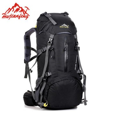 lightweight hiking backpack 50L Waterproof Outdoor Hiking Backpack Trekking Camping Travel Bags Pack Climbing Backpack Knapsack With Rain Cover waterproof hiking backpack