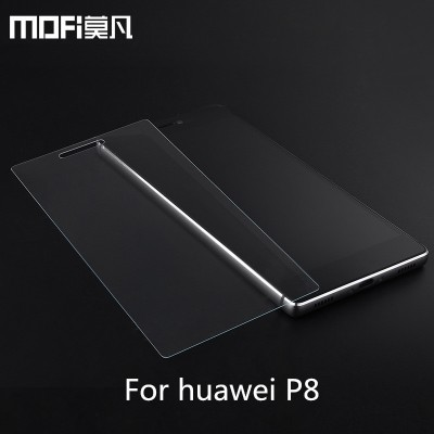 MOFi Case for huawei p8 glass MOFi original Ascend P8 GRA tempered glass HD screen protector cover 9H 2.5d front anti-explosion guard