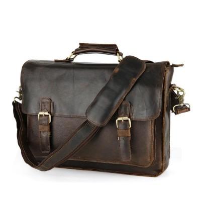 Men Bags Luxury Italian Real Leather Retro Shoulder Bag Messenger Genuine Crossbody Male Handbag Tote Laptop Briefcase