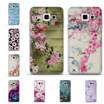 Luxury Soft Phone Case for Samsung Galaxy A3 2015 Phone Case Silicone A300 A3000 Back Silicon Cover for Samsung A3 3D Printed Case