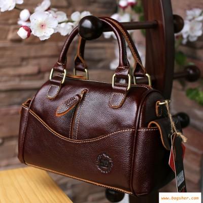 Brown Leather Handbag