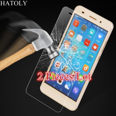 Glass Huawei Y6 II Tempered Glass for Huawei Y6 II Screen Protector for Huawei Y6 II Glass HD Protective Thin Film
