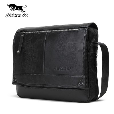 CROSS OX 2017 Autumn New Arrival Men's Messenger Bags For Men Cross Body Bag Men's Bag Shoulder Bags Business Casual SL383M