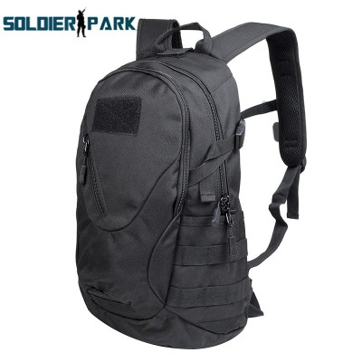 lightweight hiking backpack Outdoor Nylon Backpack Adjustable Wasitbelt 20L Tactical Assault Mini Equipment Knapsack Camping Hiking Backpack Schoolbag waterproof hiking backpack